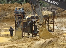 旱地沙金设备,河床砂金设备