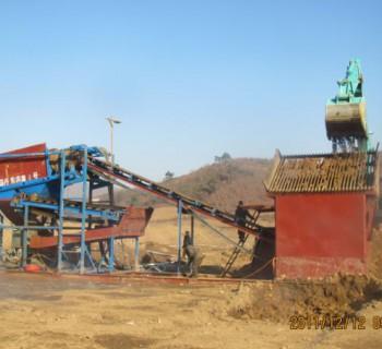 沙金提取开采设备