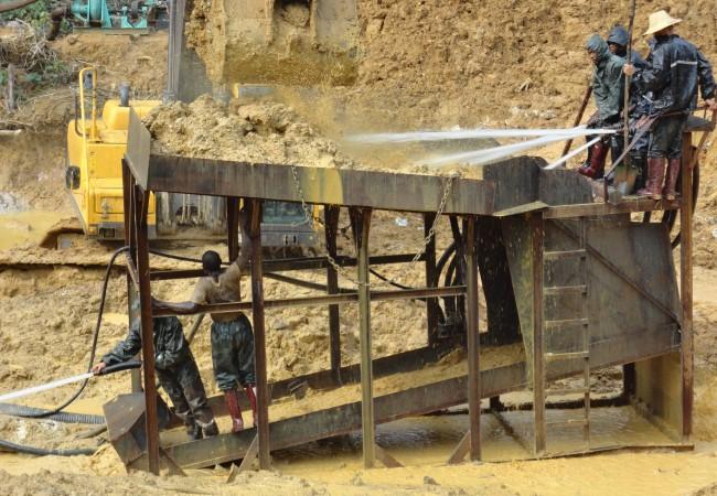 沙金淘洗机,砂金淘洗设备