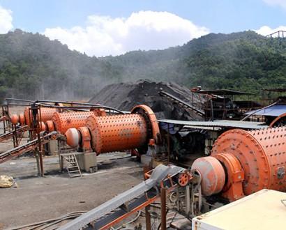 岩金矿选矿生产线设备
