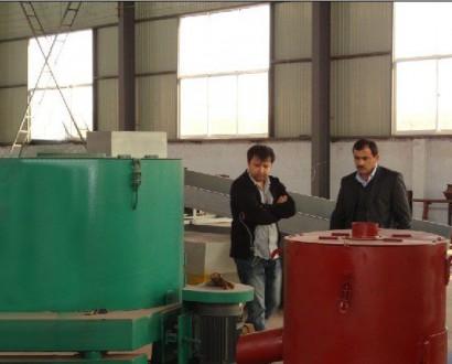 埃塞俄比亚客户来厂定购洗沙设备