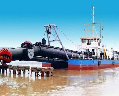 河道清淤船,水库挖泥船,尾矿库抽泥抽沙船