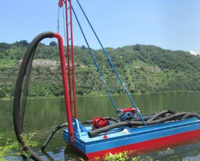 小型抽沙船,河道采沙机械,采砂船