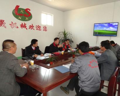 台湾客户来厂订购设备