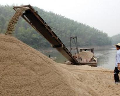 运沙船,运沙子的船